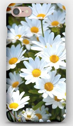 iPhone 7 Case Daisies, White, Meadow, Summer, Mood