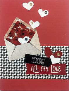 Valentines Card - CM Mi Amor Collection - by Noreen Smith Featured on Creative Scrapbooker Magazine Blog
