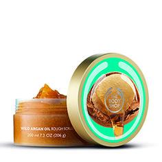 Exfoliante Corporal Aceite De Argán | The Body Shop®