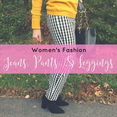 womens fashion - jeans outfit, pants outfit, and leggings outfit; outfit ideas and style inspiration for women for any occasion and any season - spring, summer, fall, winter