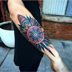 good luck tattoo — Done by Kirk Jones Tattoos 3d, Elbow Tattoos, Knee Tattoo, Band Tattoo, Forearm Tattoo Men, Unique Tattoos, Beautiful Tattoos, Body Art Tattoos, Tattoos For Guys