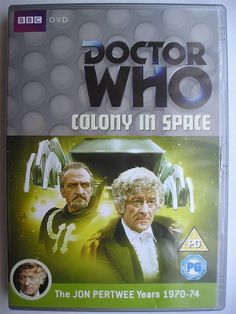 """""""Colony in Space"""" is an adventure of the eigth season of """"Doctor Who"""" classic series, which aired in 1971 featuring the Third Doctor and Jo Grant. It follows """"The Claws of Axos"""" and it's a six parts adventure written by Malcolm Hulke and directed by Michael Briant. Cover from the British edition of the DVD. Click to read a review of this adventure!"""