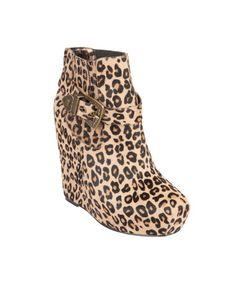 Betsey Johnson Carrin-P Leopard Bootie