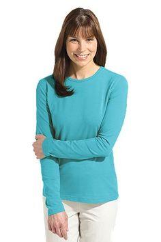 ZnO Long-sleeve T-Shirt: Sun Protective Clothing - Coolibar