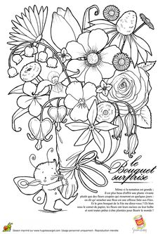 coloriage fleur colorier dessin imprimer coloriage pinterest colorier coloriage et. Black Bedroom Furniture Sets. Home Design Ideas