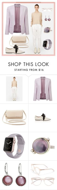 """Minimalist Pastels"" by dundiddit ❤ liked on Polyvore featuring Acne Studios, French Connection, Charlotte Russe, Emporio Armani, Derek Lam, women's clothing, women, female, woman and misses"