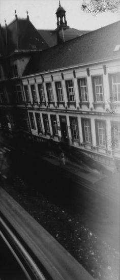 ABK Mortsel opdracht camera obscura werk van Thomas