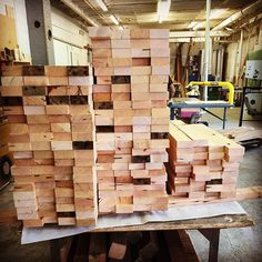 How much wood would a woodchuck chuck? Enough to make over 300 shelves for Reclaimed Barn Wood, Portland, Oregon, Shelves, Cabinet, Instagram Posts, Shop, Clothes Stand, Shelving