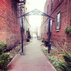 Cool alley in downtown Kokomo, IN