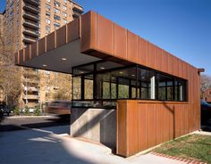 Pratt Security Kiosk | Matiz Architecture and Design | Archinect