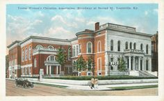 James C. Ford Mansion - YWCA, 2nd & Broadway St's, Louisville, Ky built in the 1850's, razed in 1965-ca 1930's