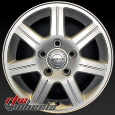 """Chrysler Town Country oem wheels for sale 2008-2010. 16"""""""" Silver rims 2330"""