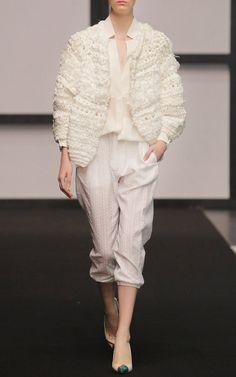 Dawid Tomaszewski Spring/Summer 2015 Trunkshow Look 22 on Moda Operandi