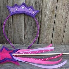 No-Sew Princess Tiara