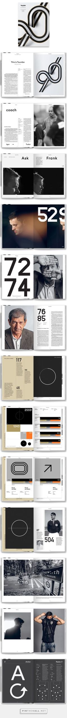 Toumba Magazine on Behance... - a grouped images picture - Pin Them All: