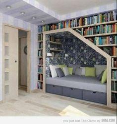 Die Idee einer Lesehöhle finde ich fantastisch.
