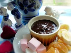 Chocolate Fondue and Fresh Fruit Dippers