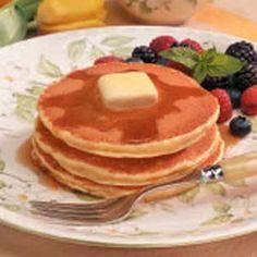 Cornmeal Pancakes Recipe