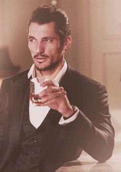 He looked around the gala, watching everyone laugh and dance and be merry, and he sat by the bar, his eyes scanning. Looking. He wasn't looking for anything in particular. Just something to distract him from his thoughts. His jaw clenched, he needed to get away. He downed the drink, and briskly walked outside.