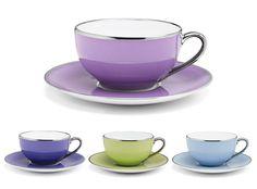 Limoges - Legle Teacup & SaucerSet - Home - Oh, How Civilized
