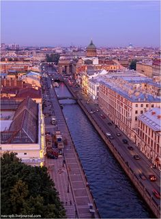 St. Petersburg, Russia... I have had reoccuring dreams about St Petersburg since i was a child. Only recently did I realize rthat it WAS St Petersburg.