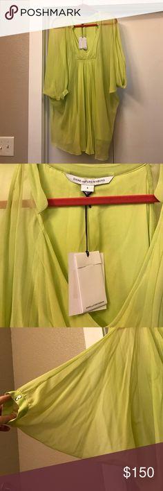 Diane Von Furstenberg Fleurette 6 New with tags! Beautiful dress Diane von Furstenberg Dresses Mini