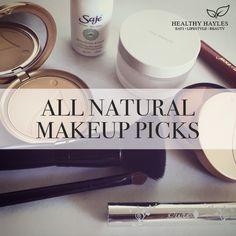 Natural makeup pics. Jane Iredale, Saje, 100%pure, RMS