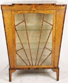 Antique Art deco China Cabinet