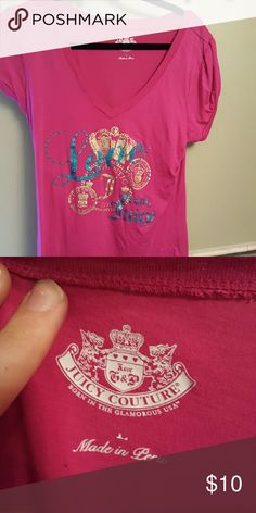 Juicy Couture Juicy couture size L worn a couple times Tops Tees - Short Sleeve