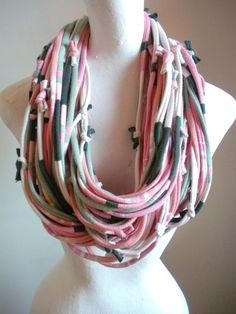 Infinity scarf...there are more awesome scarves by this person! Love them all!