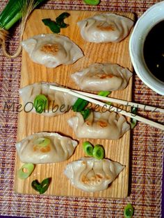 Japonské knedlíčky Gyoza Dim Sum, Ravioli, Meat, Chicken, Food, Essen, Meals, Yemek, Eten