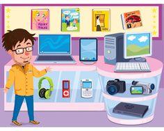 Shop & Math (available in the App Store) is an educational app to count, add and having fun playing shops. La Factoria d'Imatges, 2013. Shop & Math (disponible en la App Store) es una app educativa para contar, sumar y jugar a tiendas. La Factoria d'Imatges, 2013.