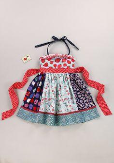 Strawberry Jam 4 Paneled Ellie Dress (RV $72) sz 8 - Matilda Jane Platinum 7/17/15 load