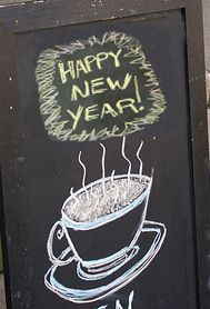 New Year's Promotion for your Coffee Shop