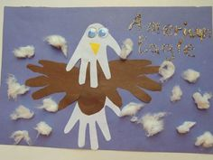 Cool project from http://www.kiwicrate.com/projects/Handprint-Bald-Eagle-for-the-4th-of-July!/1703: Handprint Bald Eagle for the 4th of July!