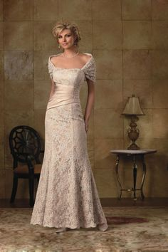 Trumpet/Mermaid Off The Shoulder  Floor Length Sleeveless Lace  And Satin Mother Of Bridal Dress