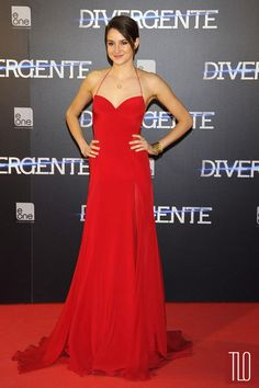 "Shailene Woodley at the ""Divergent"" Madrid Premiere 