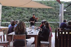 Grotte de la Salamandre, concert de Romuald Grimbert-Barre 8 Juillet 2014, soliste aux Chorégies d'Orange. Photo Marine Eveillard