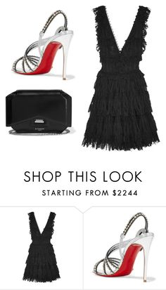 """""""Sin título #5732"""" by ceciliaamuedo ❤ liked on Polyvore featuring Alexander McQueen, Christian Louboutin and Givenchy"""