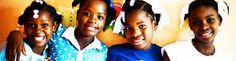 Haiti: Child Hope International, Port Au Prince HAITI. Maison de Lumiere orphanage.
