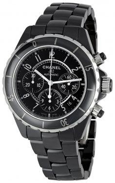 Chanel Men's J12 Sport Black Dial Watch (Công Ty Cứu Dữ Liệu Trần Sang: http://cuudulieutransang.wix.com/trangchu)
