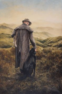 'Guardians', oil on canvas. Available from Burkes Pass Gallery. Country Farm, Farming, New Zealand, Oil On Canvas, Westerns, Original Artwork, Paintings, Gallery, Paint