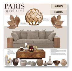 """Paris Apartment"" by stranjakivana ❤ liked on Polyvore featuring interior, interiors, interior design, home, home decor, interior decorating, John-Richard, Varaluz, Rosanna and Bliss Studio"