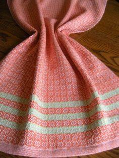 Handwoven Hand Towel Handwoven Dish Towel by ThistleRoseWeaving