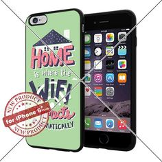 New Apple iPhone 6 Plus and 6S Plus Case Funny Home Wifi Quotes Cell Phone Case Shock-Absorbing TPU Cases Durable Bumper Cover Frame Black Lucky_case26 http://www.amazon.com/dp/B018KOQFA6/ref=cm_sw_r_pi_dp_Ykbwwb0XP7ZVE