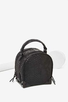 Croc Stalker Vegan Leather Crossbody Bag | Shop Accessories at Nasty Gal!