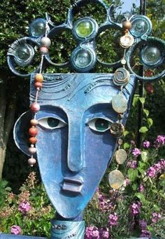 Sea Witch-Crowned With Magic Bubbles  By Yvonne Arber / green home