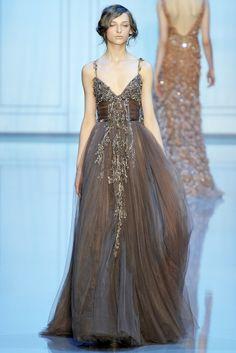 Elie Saab Fall 2011 Couture Fashion Show - Daga Ziober (Elite)