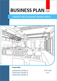 How To Prepare A Restaurant Business Plan Business Concept