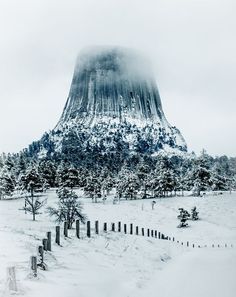 Devils Tower National Monument Photo by P. Rust -- National Geographic Your Shot